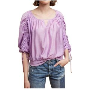{Anthropologie} Maeve Ethereal Parachute Top Sz S